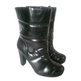Calvin Klein-Ankle Boots-Black