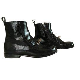 Hermès-Ankle Boots-Black
