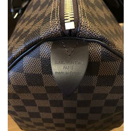 Louis Vuitton-Keepall 50 Damier-Marron