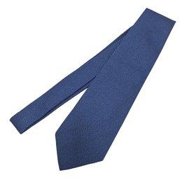 Salvatore Ferragamo-Krawatten-Blau