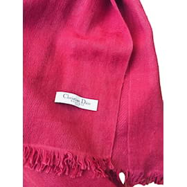 Christian Dior-Cashmere shawl-Other