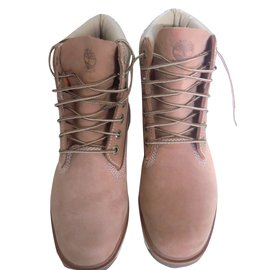 Timberland-6 inch boots-Beige