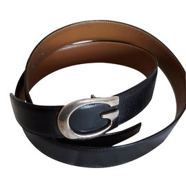 Gucci-men's belt-Black