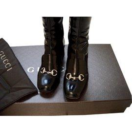 Gucci-Bottes-Noir