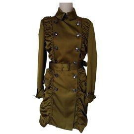 Burberry-Trench coat-Khaki