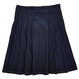 Burberry-Skirts-Dark blue