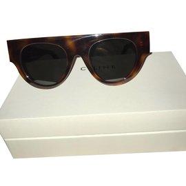 Céline-Des lunettes de soleil-Marron ... be0b9694d7e8