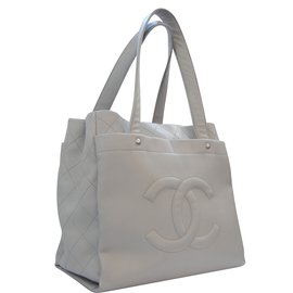 Chanel-Cabas-Gris anthracite
