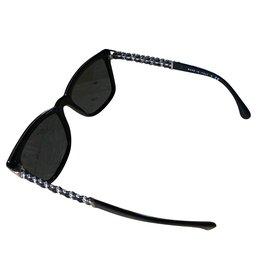 Chanel-Lunettes de soleil-Noir