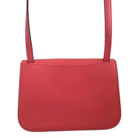 Hermès-Halzan mini pink Azalée-Pink