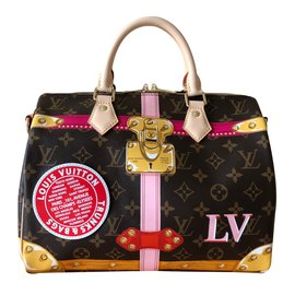Louis Vuitton-Speedy Bandoulière 30-Multicolore