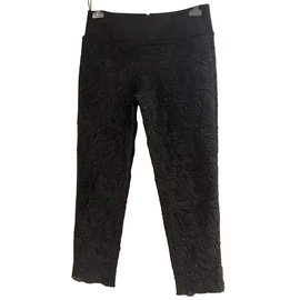 Stella Mc Cartney-Pantalons, Cuissardes-Noir