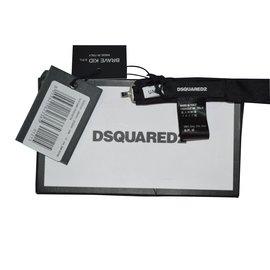 Dsquared2-Vêtements Garçons-Noir