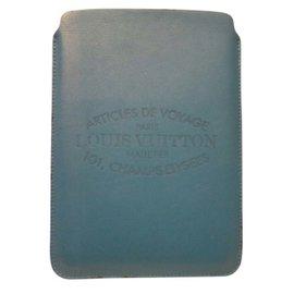 Louis Vuitton-Housse iPad Genre mixte-Bleu