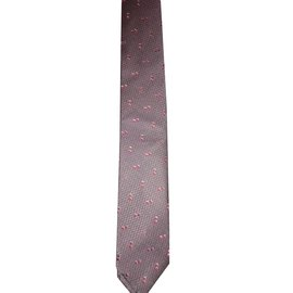 Chanel-Tie-Pink,Grey