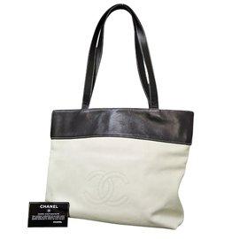 Chanel-Tote bag-White
