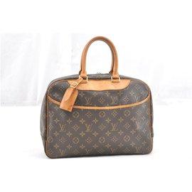 Louis Vuitton-Louis Vuitton Deauville monogram-Brown
