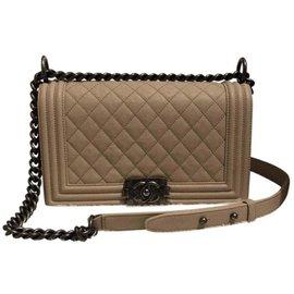 Chanel-Chanel boy-Cream