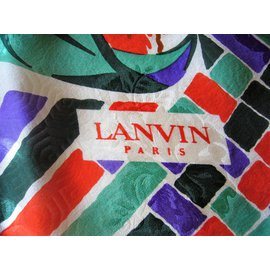 Lanvin-Carré-Multicolore