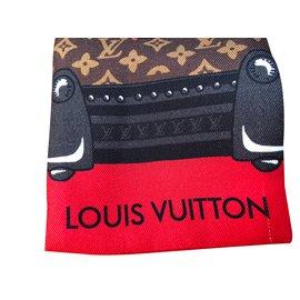 Louis Vuitton-Bandeau Animalle-Marron