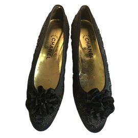 Chanel-Ballerina pumps-Black