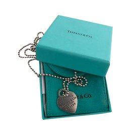 Tiffany & Co-Long necklace-Silvery