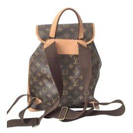Louis Vuitton-Bosphore Backpack-Brown