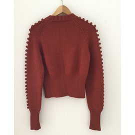 Chloé-Knitwear-Red