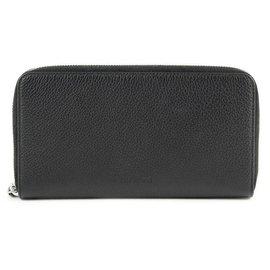 Dior-Leather purse-Black