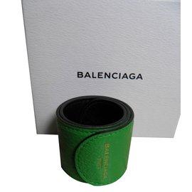 Balenciaga-Cuff-Green