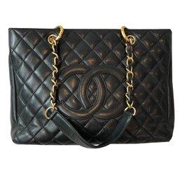 Chanel-Grand shopping Tote-Black