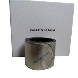 Balenciaga-Cuff-Silvery