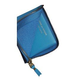 Comme Des Garcons-Wallet-Light blue
