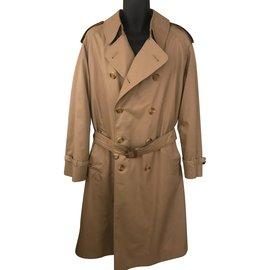 Aquascutum-Men Coats Outerwear-Beige