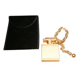 Balenciaga-Bag charms-Golden