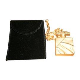 Balenciaga-Taschenanhänger-Golden