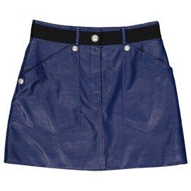 Chanel-Skirt-Blue
