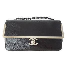 Chanel-Sac noir medium-Noir