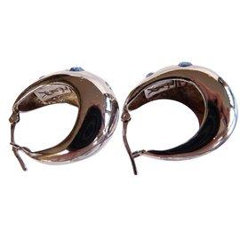 Yves Saint Laurent-Earrings-Silvery