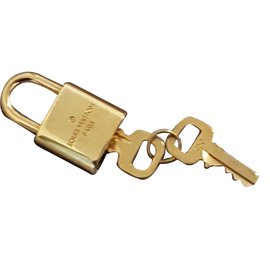 Louis Vuitton-padlock-Silvery,Bronze