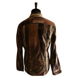 Kenzo-chemise-Marron
