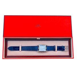 Hermès-Cape cod automatic gm-Navy blue