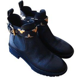 Louis Vuitton-Boots RIDE FLAT-Noir