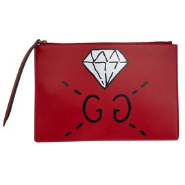 Gucci-Pochette GucciGhost Rouge-Rouge