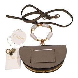 Chloé-Clutch bags-Grey