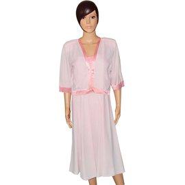 Balenciaga-Robes-Rose