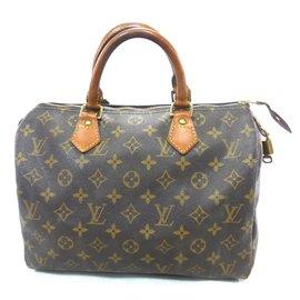 Louis Vuitton-Speedy 30 monogramme-Marron ... 7cd696d235de