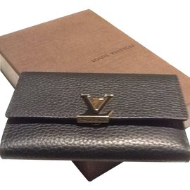 Louis Vuitton-Portefeuille-Noir