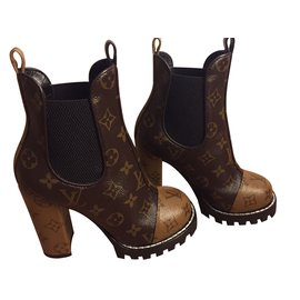 Louis Vuitton-Star Trail Boot-Marron foncé