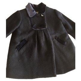 Autre Marque-Manteau Armani ligne enfant-Bleu Marine
